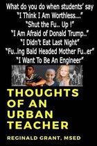 Boek cover Thoughts of an Urban Teacher van Reginald Grant Msed