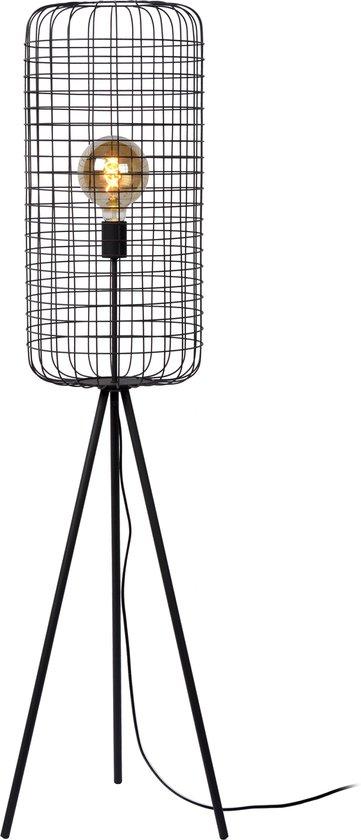 Lucide ESMEE Vloerlamp - Ø 31 cm - E27 - Zwart