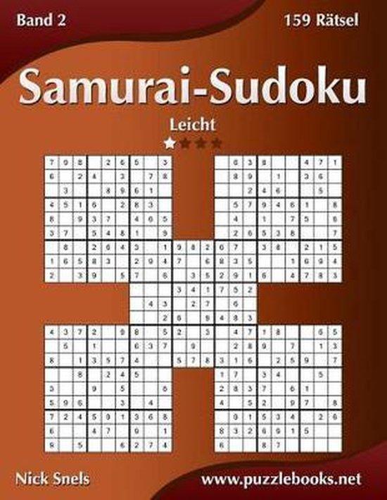 Samurai-Sudoku - Leicht - Band 2 - 159 R tsel