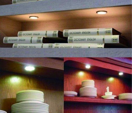 Draadloze LED spots op batterijen - inclusief afstandsbediening, timer en dimmer – Set van 5