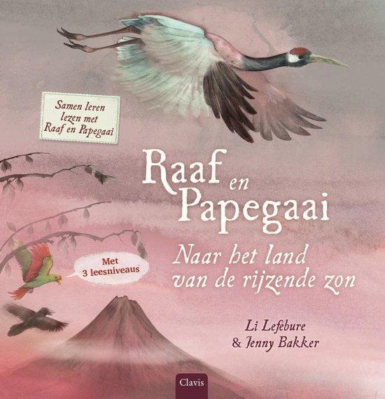 Raaf en Papegaai 0 -   Naar het land van de rijzende zon
