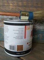 Polyvine Woodstain Light Oak voor binnen en buiten 1 liter