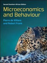 Boek cover Microeconomics and Behaviour van A P (Pierre) De Villiers