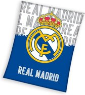 Real Madrid C.F. - Fleece - Plaid - 130x160 cm - Blue
