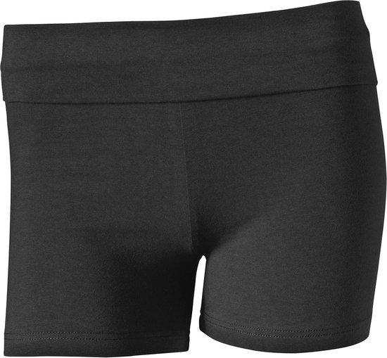 Papillon Hotpant Short Sportbroek - Maat M  - Vrouwen - zwart