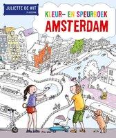 Kleur- en speurboek Amsterdam