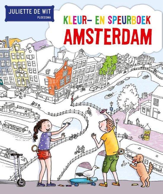 Kleur- en speurboek Amsterdam - Juliette de Wit  