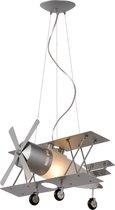 Lucide - FOCKER hanglamp E27 L44 W50 H120cm Zilver