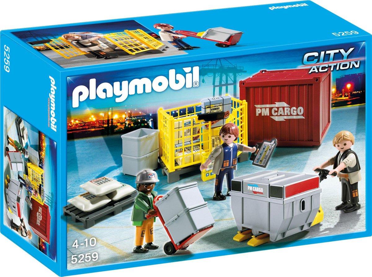 Playmobil Cargoteam met Lading - 5259