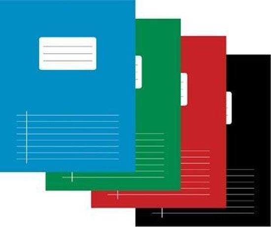 Afbeelding van Schrift - A5 - Gelijnd met kantlijn - 40 vel - assorti pak 10 speelgoed
