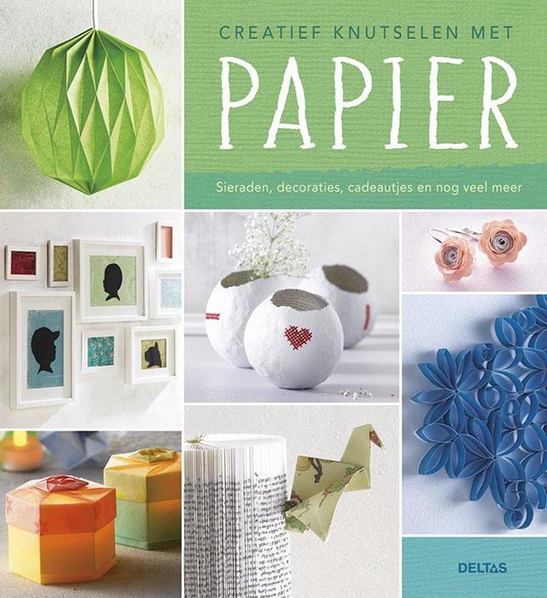 Verbazingwekkend bol.com | Creatief knutselen met papier | 9789044741742 | Boeken YW-02