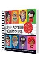 Kookboek Top of the Cakepops - Lollycakes - Bekende Sterren - 19,5 x 19,5 x 1,5 cm