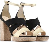 Made in Italia - Sandalen - Vrouw - OFELIA - black,gold