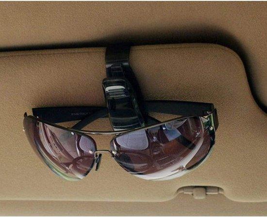 Zonnebril Houder Auto - Zonneklep Bril Houder Auto - Zonnebril Houder Auto - Zonnebril Clip Houder Auto - Zwart