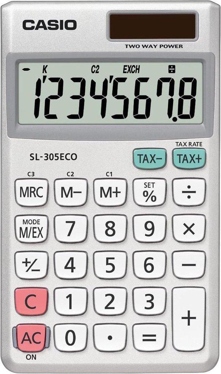 Casio SL-305ECO - Rekenmachine