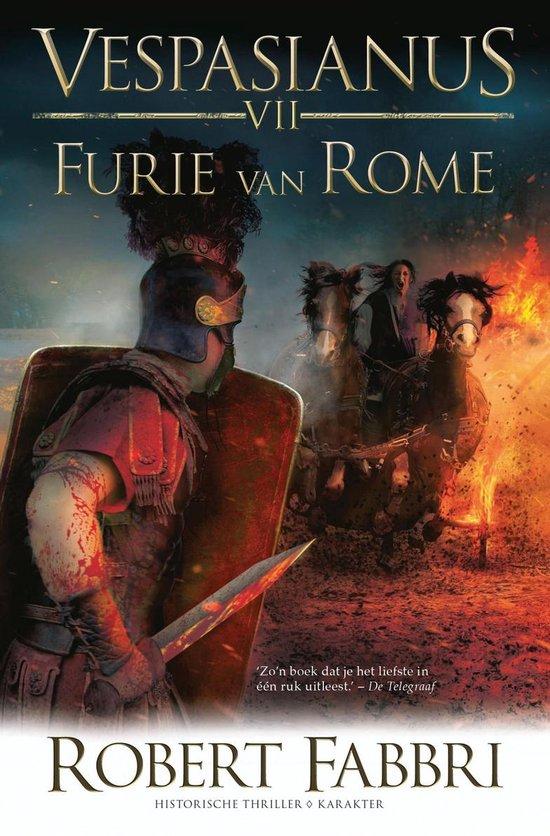 Vespasianus VII - Furie van Rome - Robert Fabbri |