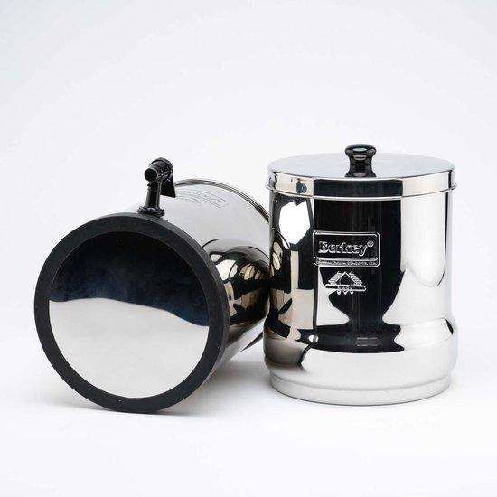 Big Berkey Waterfilter incl. 4 Black Berkey filters