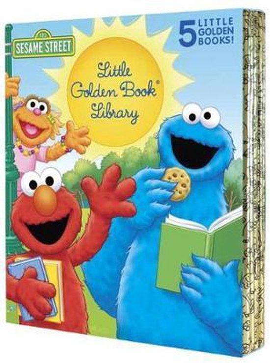 Sesame Street Little Golden Book Library 5-Book Boxed Set