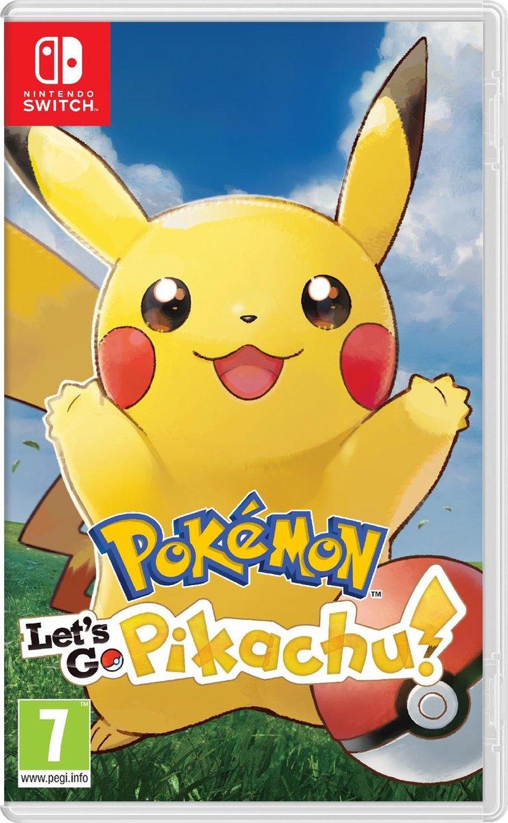 Pokémon Let's Go, Pikachu! - Switch - Nintendo