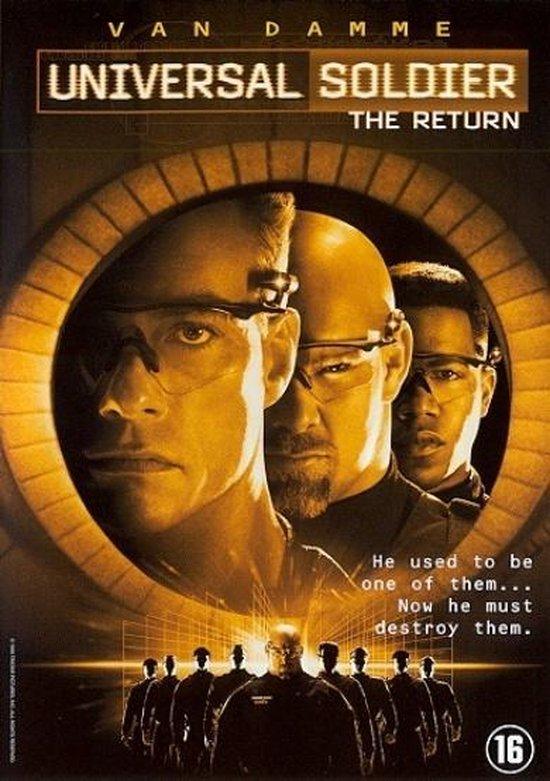Cover van de film 'Universal Soldier - The Return'