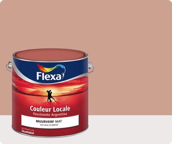 Flexa Couleur Locale - Muurverf Mat - Passionate Argentina Blush - 8545 - 2,5 liter