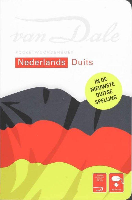 Boek cover Van Dale Pocketwrdb Nederlands - Duits van Diverse auteurs (Onbekend)