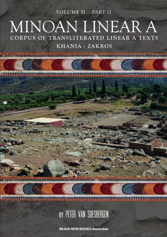 Minoan Linear A, Volume II, Part 2
