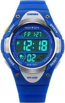 Kinderhorloge Chrono - Alarm – Digitaal Horloge – Blauw - Ø37mm