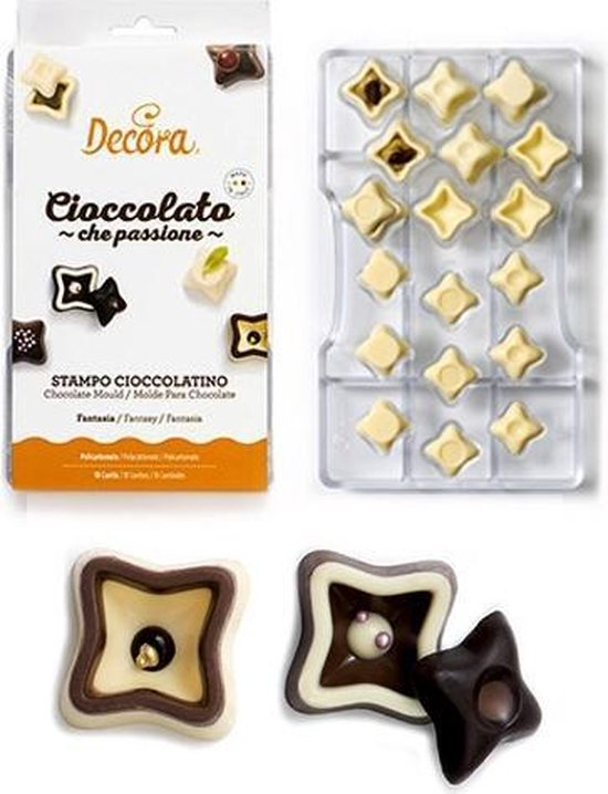 Chocolade mal  Fantasy - Decora