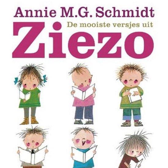 Boek cover De mooiste versjes uit Ziezo van Annie M.G. Schmidt (Onbekend)