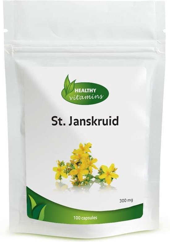 Sint Janskruid extra sterk - 100 capsules - St Janskruid