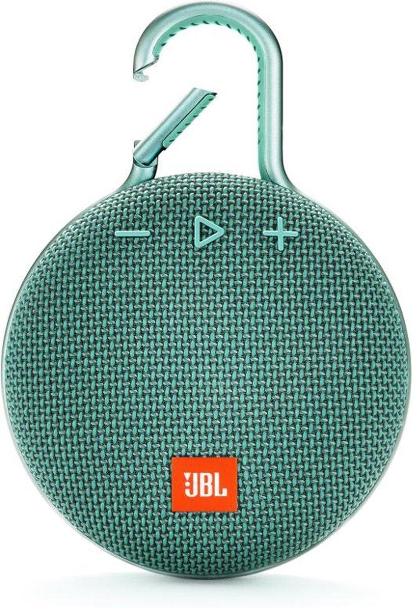 JBL Clip 3 Turquoise - Draagbare Bluetooth Mini Speaker