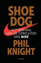 Boekomslag van 'Shoe Dog'