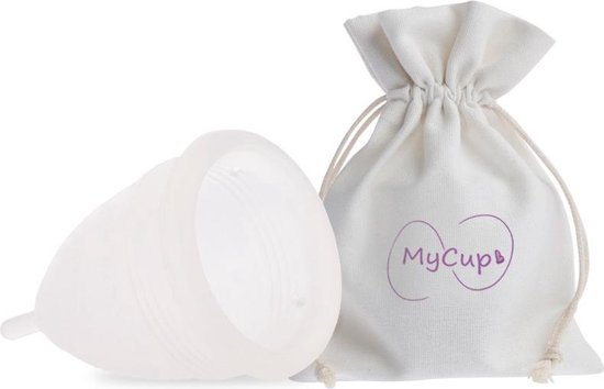 MyCup Herbruikbare Menstruatiecup - Small - Transparant