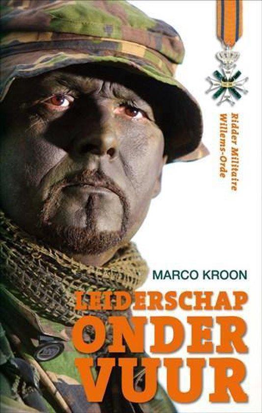 Boek cover Leiderschap onder vuur van Marco Kroon