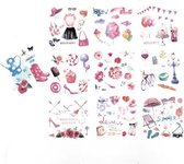 Set van 10 Stickervellen Happiness   Stickers voor Bulletjournals en Scrapbooking