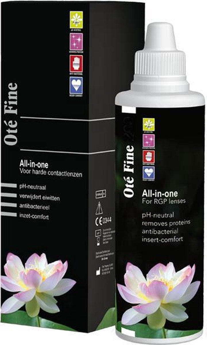 Ot  Fine [1x 100ml]   alles-in-1 lenzenvloeistof voor harde contactlenzen