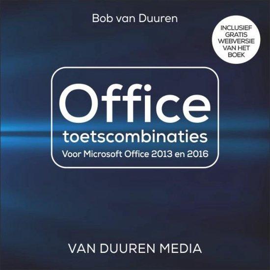 Office Toetscombinaties - Bob van Duuren pdf epub