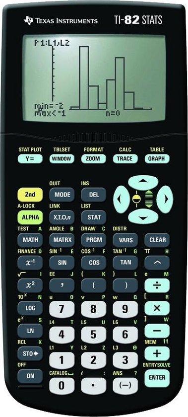 Afbeelding van Graphing calculator TI-82ST -