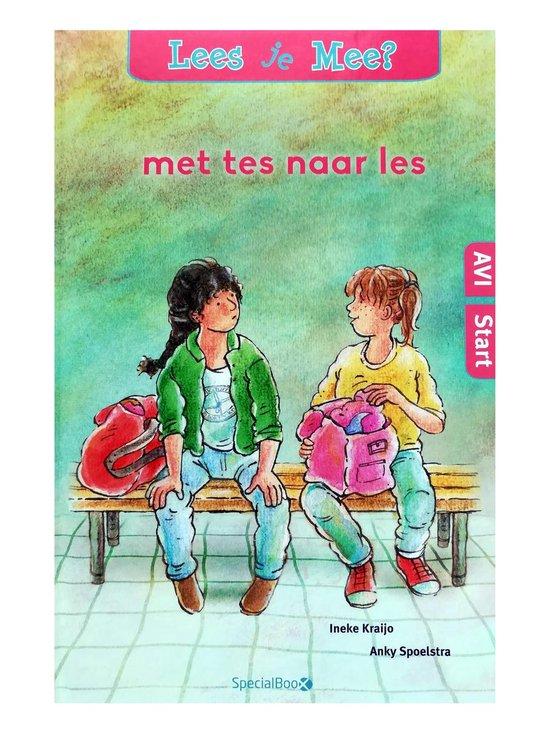 Boek cover AVI Start: Met Tes naar les van Ineke Kraijo, Anky Spoelstra (Hardcover)