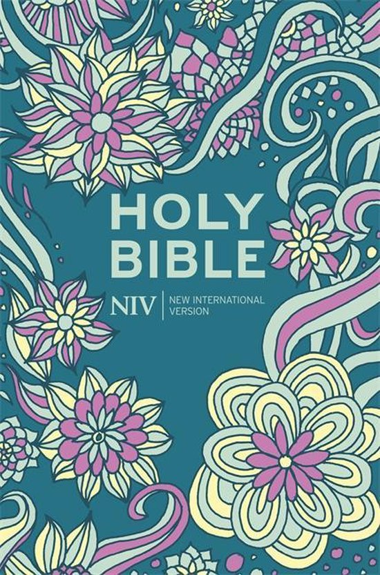 NIV Pocket Floral Hardback Bible - New International Version pdf epub