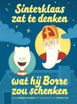 Sinterklaas zat te denken wat hij Borre zou schenken