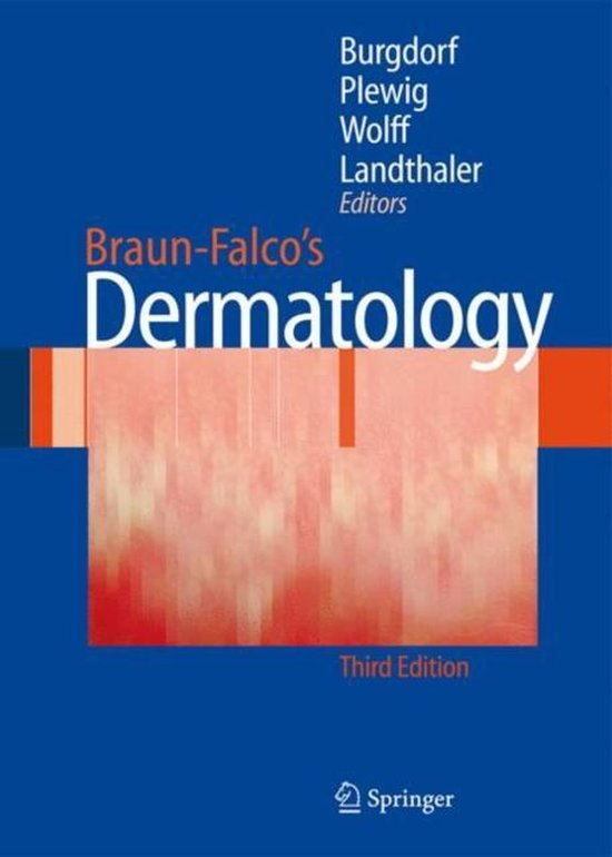 Boek cover Braun-Falcos Dermatology van Otto Braun-Falco (Hardcover)