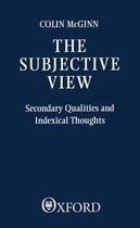 Boek cover The Subjective View van Colin McGinn