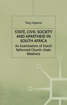 Boek cover State, Civil Society and Apartheid in South Africa van t. Kuperus