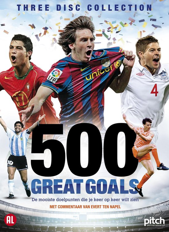Cover van de film '500 Great Goals'