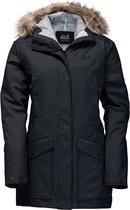 Jack Wolfskin Coastal Range - dames - winterjas - XL - zwart