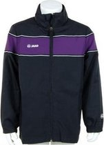 Jako Woven Jacket Player Junior - Sportshirt - Kinderen - Maat 128 - Dark Navy;Purple