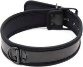 Banoch - Lindo Collar Black Neoprene - halsband zwart neopreen - puppy play