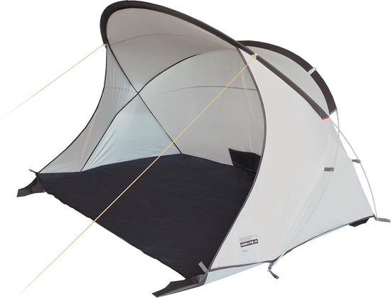 High Peak Evia 50 Pop-up Strandtent - Grijs